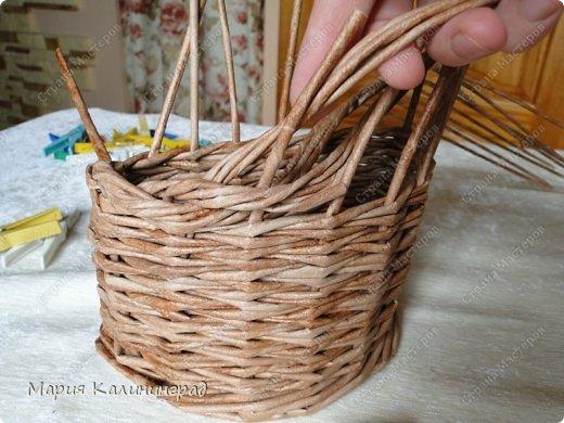 Мастер-класс Поделка изделие Плетение Итальянская коса мк Кружево Трубочки бумажные фото 16