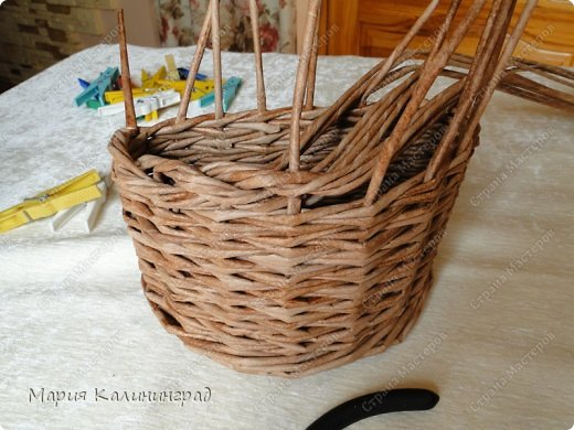 Мастер-класс Поделка изделие Плетение Итальянская коса мк Кружево Трубочки бумажные фото 17
