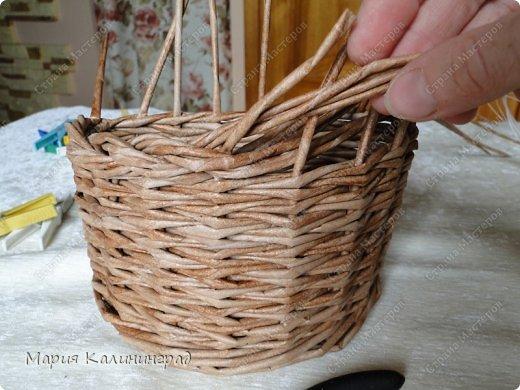 Мастер-класс Поделка изделие Плетение Итальянская коса мк Кружево Трубочки бумажные фото 18