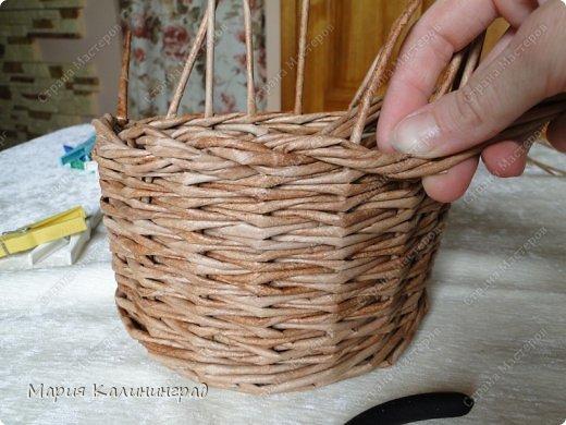 Мастер-класс Поделка изделие Плетение Итальянская коса мк Кружево Трубочки бумажные фото 19