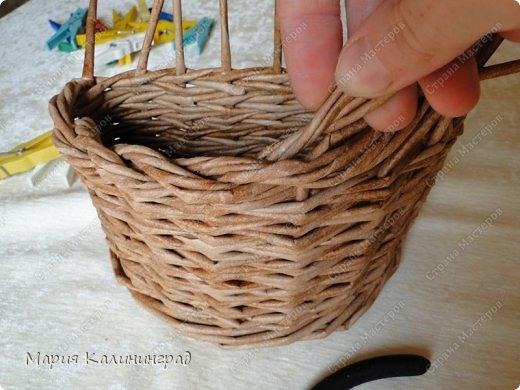 Мастер-класс Поделка изделие Плетение Итальянская коса мк Кружево Трубочки бумажные фото 20