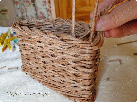 Мастер-класс Поделка изделие Плетение Итальянская коса мк Кружево Трубочки бумажные фото 21