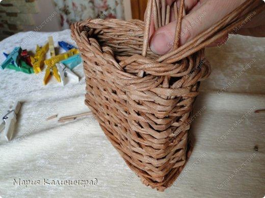 Мастер-класс Поделка изделие Плетение Итальянская коса мк Кружево Трубочки бумажные фото 22