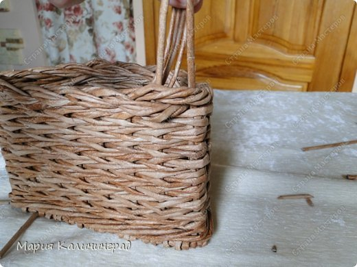 Мастер-класс Поделка изделие Плетение Итальянская загибка мк Кружево Трубочки бумажные фото 23