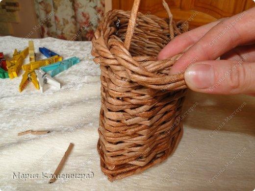 Мастер-класс Поделка изделие Плетение Итальянская коса мк Кружево Трубочки бумажные фото 24