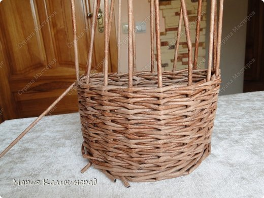 Мастер-класс Поделка изделие Плетение Итальянская загибка мк Кружево Трубочки бумажные фото 7