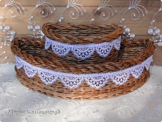 Мастер-класс Поделка изделие Плетение Итальянская коса мк Кружево Трубочки бумажные фото 1