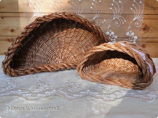 Мастер-класс Поделка изделие Плетение Итальянская коса мк Кружево Трубочки бумажные фото 6