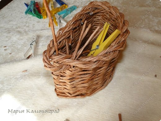 Мастер-класс Поделка изделие Плетение Итальянская загибка мк Кружево Трубочки бумажные фото 26