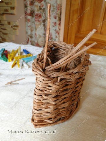 Мастер-класс Поделка изделие Плетение Итальянская коса мк Кружево Трубочки бумажные фото 27