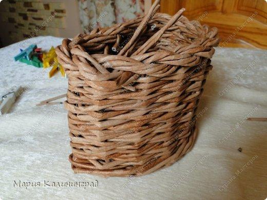 Мастер-класс Поделка изделие Плетение Итальянская коса мк Кружево Трубочки бумажные фото 28