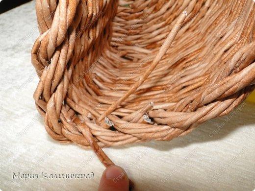 Мастер-класс Поделка изделие Плетение Итальянская коса мк Кружево Трубочки бумажные фото 30