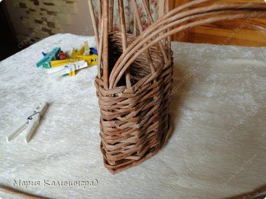 Мастер-класс Поделка изделие Плетение Итальянская загибка мк Кружево Трубочки бумажные фото 8