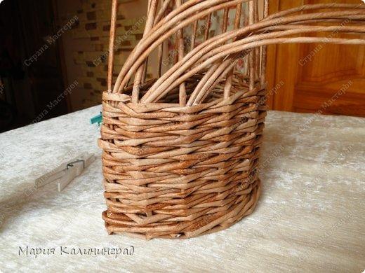 Мастер-класс Поделка изделие Плетение Итальянская коса мк Кружево Трубочки бумажные фото 10