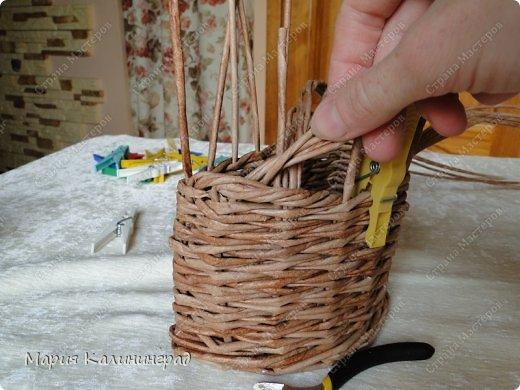 Мастер-класс Поделка изделие Плетение Итальянская коса мк Кружево Трубочки бумажные фото 13