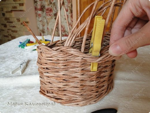 Мастер-класс Поделка изделие Плетение Итальянская коса мк Кружево Трубочки бумажные фото 15