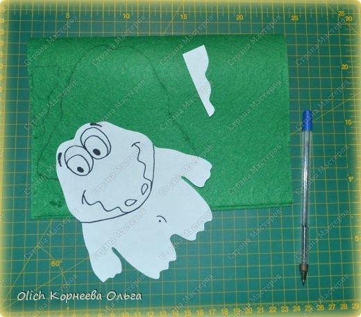 Здравствуйте. Сегодня будем шить забавного малыша крокодила с игрушками. фото 3