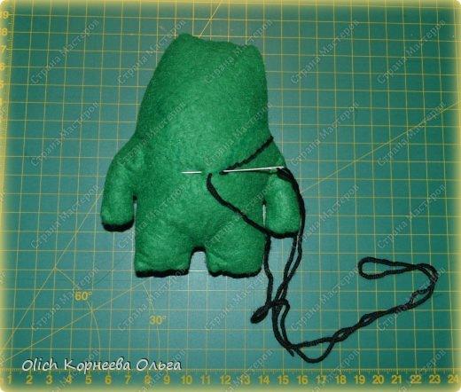 Здравствуйте. Сегодня будем шить забавного малыша крокодила с игрушками. фото 5