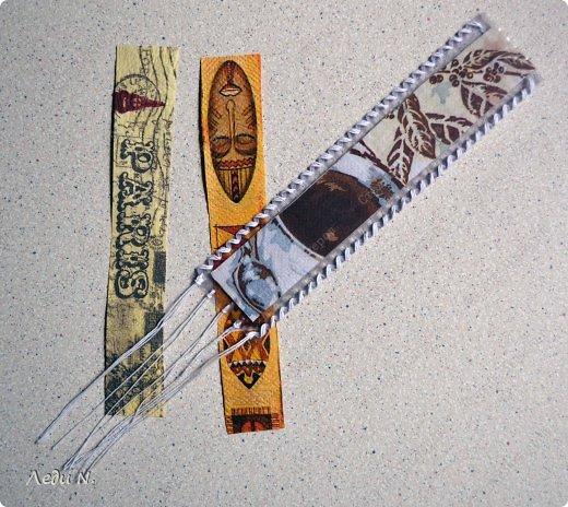 Закладка Мастер-класс Шитьё Закладки родом из детства фото 11