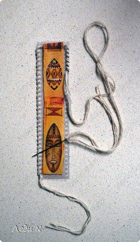 Закладка Мастер-класс Шитьё Закладки родом из детства фото 12