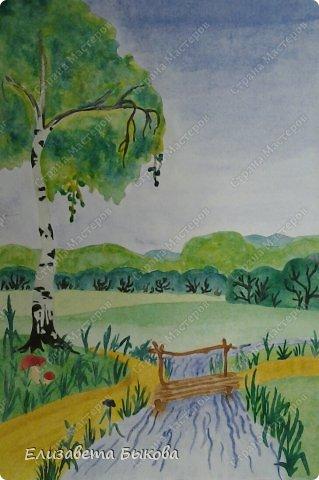 Картинки учимся рисовать пейзаж 5