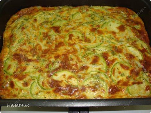 Кулинария Мастер-класс Рецепт кулинарный Оригинальная запеканка из кабачков с сыром Продукты пищевые фото 1