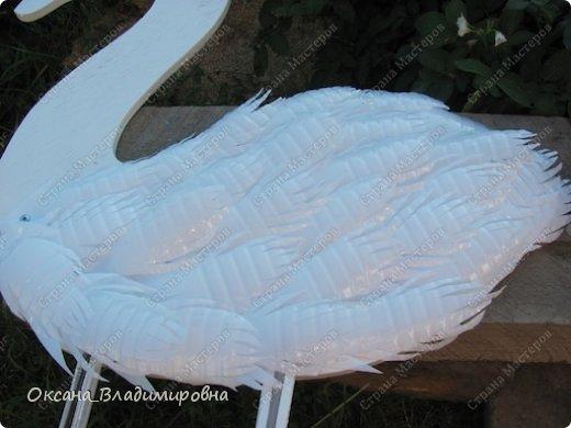 Как сделать лебедей из пластиковых бутылок пошаговое