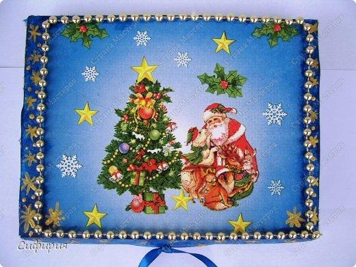Мастер-класс Поделка изделие Новый год Рождество Декупаж Роспись Необычно и просто готовлюсь к Новому Году Гипс Краска Материал бросовый фото 12