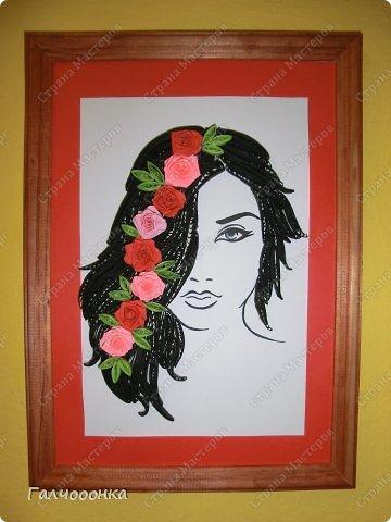 Еще одна моя ученица. Бычихина Анастасия. подарок маме на восьмое марта. фото 5