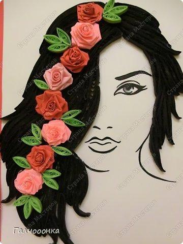 Еще одна моя ученица. Бычихина Анастасия. подарок маме на восьмое марта. фото 3