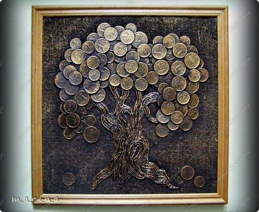 Панно своими руками мастер класс денежное дерево