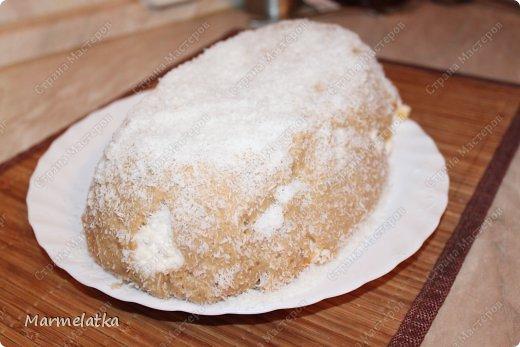 Холодный торт с зефиром( без выпечки) фото 16