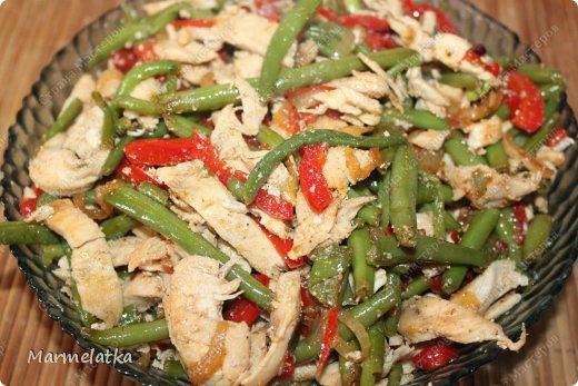 Теплый салат фото 16