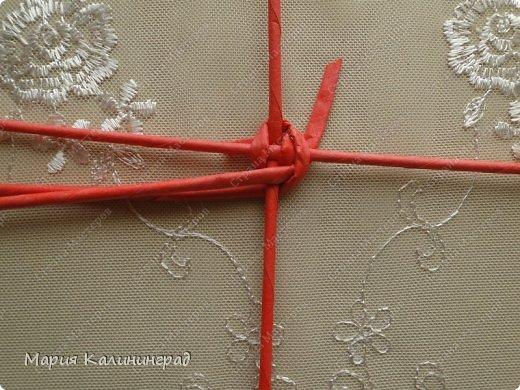 Мастер-класс Поделка изделие Плетение Мк круглого донышка Бумага газетная Трубочки бумажные фото 4