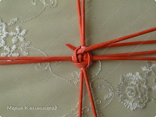 Мастер-класс Поделка изделие Плетение Мк круглого донышка Бумага газетная Трубочки бумажные фото 6