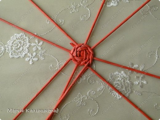 Мастер-класс Поделка изделие Плетение Мк круглого донышка Бумага газетная Трубочки бумажные фото 8
