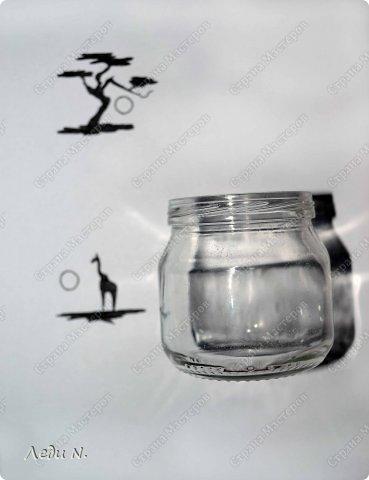 Декор предметов Мастер-класс Насыпание Роспись Подсвечники-насыпушки Африка знойная  Краска Соль фото 3