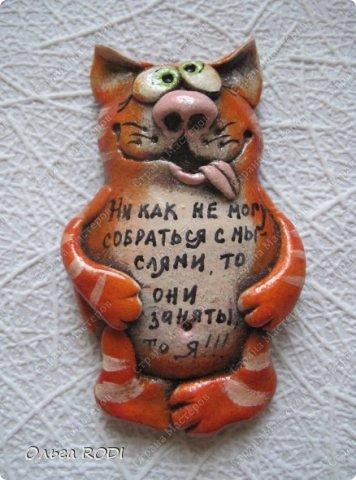Этих котиков делала к одной из летних выставок. Большое спасибо за идею Надежде https://stranamasterov.ru/user/101797 , ну очень мне её забавные зверятки нравяться!!!!)) Показываю, то что успела сфотографировать. Их было гораздо больше.... фото 4