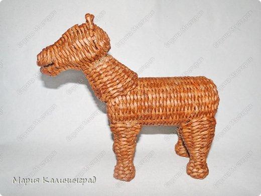 Мастер-класс Новый год Плетение Мк плетёной лошадки Бумага газетная Трубочки бумажные фото 43