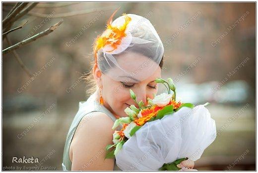 Привет, Страна! Давненько меня не было! Я к вам сегодня с сердцем, даже с 15тью! Это не Валентинки, потому как уже почти лето! Это такой декор для свадьбы. Невеста просила бело-серо-оранжевые, и вуа-ля! фото 15