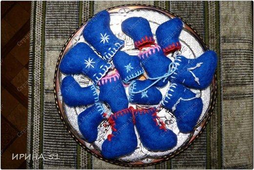 Мини валеночки сувенирные. фото 2