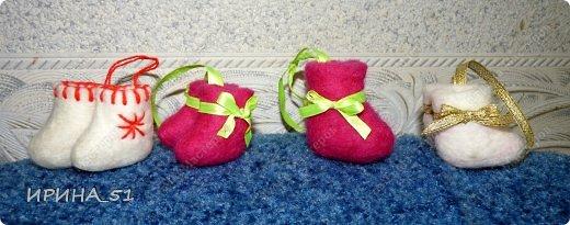 Мини валеночки сувенирные. фото 5