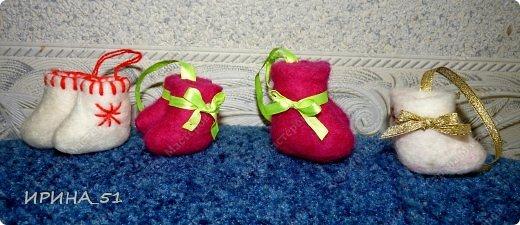 Мини валеночки сувенирные. фото 1