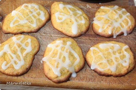 Тыквенное печенье с глазурью фото 15
