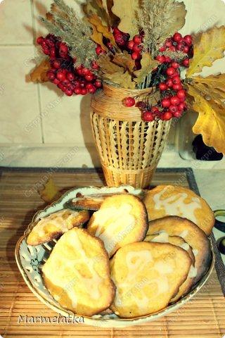 Тыквенное печенье с глазурью фото 17