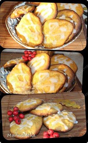Тыквенное печенье с глазурью фото 16