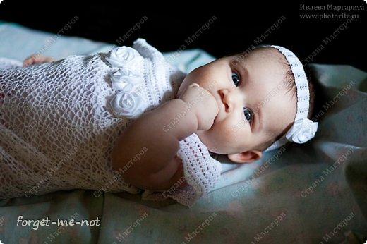 Крестильный наряд для доченьки фото 1
