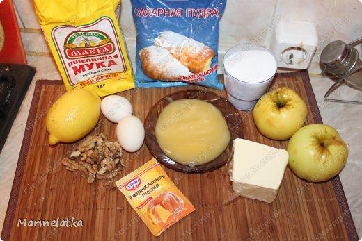 Медово-яблочный кекс фото 2