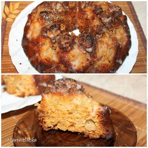 Медово-яблочный кекс фото 1