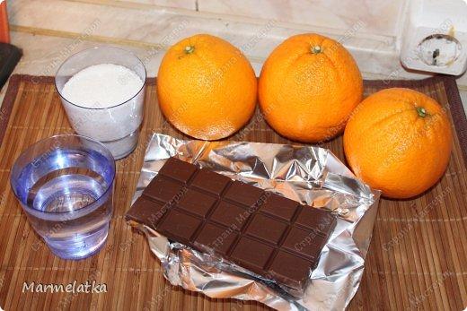 Получаются шоколадные апельсиновые цукаты. Очень вкусно  с  чаем!! фото 2